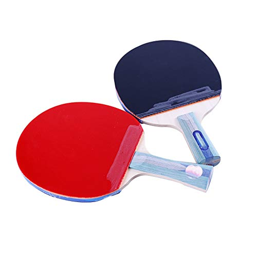 Best Prices! CVEUE Ping Pong Paddle 5-Star Table Tennis Racket Horizontal Shot 5-Star Finished Table...