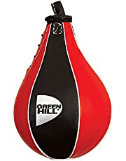 Green Hill Genuine Leather Speed Ball, Punching Target, Stricking Bag, Punch Bag,Speed Boxing Ball for Boxing Training and Fitness Workout