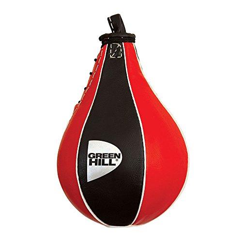 Green Hill Peretta Veloce Best Pera Boxe, Pugilato Speed Ball, Logo Plata,...