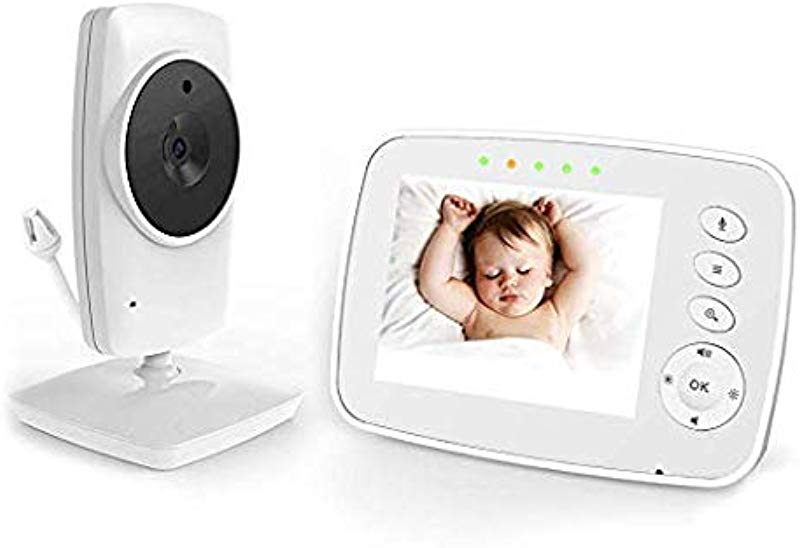 Baby Monitor Video Baby Monitor Wireless Night Vision Dual View Video Newborn Baby Monitor With Zoomable Night Vision Digital Color Camera Two Way Audio Lullabies 3 2 Inch