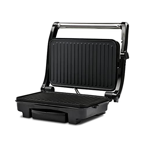 barbecue elettrico nero Girmi BS11 barbecue per l'aperto e bistecchiera 1500 W Grill Elettrico Da tavolo Nero