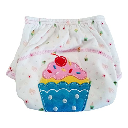 Unbekannt - Braguitas de entrenamiento - para bebé niña Cupcake L