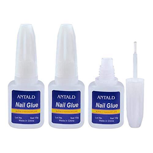 SDENSHI Kits D'outils De Manucure Acryliques Personnels Personnels De Colle Acrylique 10g