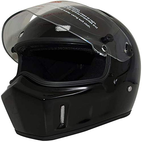ZHXH Full Face Motorradhelm, Fiberglas Adult Evergreen Riding Offroad Helm Dot...