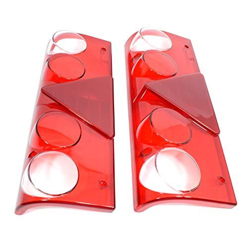 2x Lichtscheibe Glas Rückleuchte Schlussleuchte EUROPOINT II Auflieger