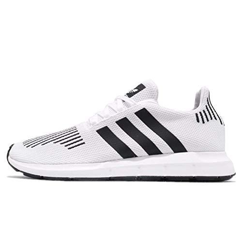 adidas Swift Run, Sneaker Uomo, Bianco (Footwear White/Core Black/Medium Grey Heather 0), 44 EU
