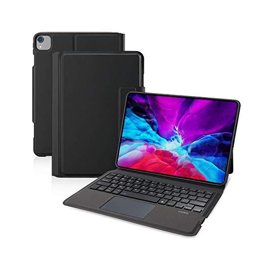 Ewin 新型 iPad Air4 10.9インチ/iPad Pro 11インチ 第1世代/第2世代 キーボードケース iPad保護ケース タッチパッド搭載 一体式Bluetoothキーボード 超軽量 超薄型 ipad air 第4世代 2020 保護カバー 日本語説明書付き (ブラック)