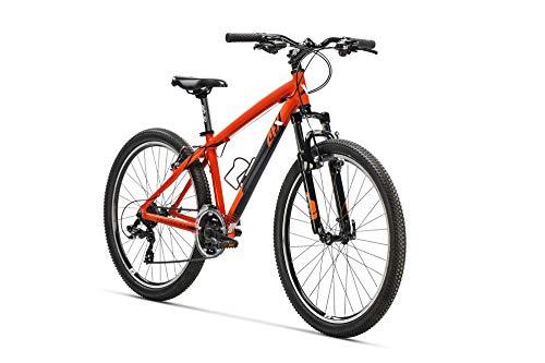 """AFX Bicicleta MTB 26"""", Aquitania 381, Color naranja"""