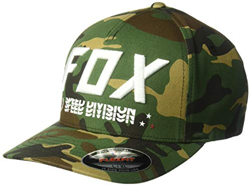Triple Threat Flexfit Hat Green Camo