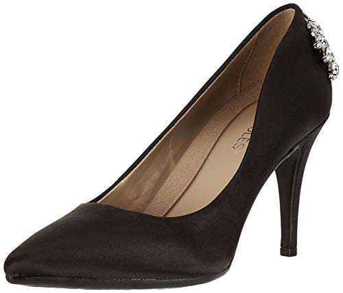 Aerosoles Women's Deans List Pump, Black Satin, 8 M US
