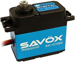 Savox .15/277.7 Aluminum Case Waterproof Coreless Digital Servo