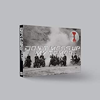 EXO - Don't Mess UP My Tempo [Andante ver.] (Vol.5) CD+Booklet+Photocard+Pre-Order Benefit+Folded Poster+Extra Photocards Set