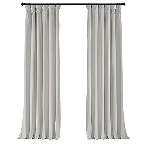 Cortinas terciopelo blanco salón, medidas 244 x 127 cm aprox