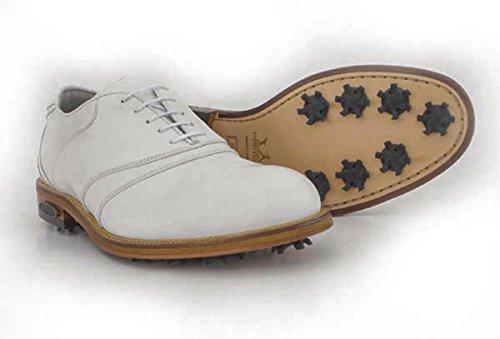 PREMIUM PORTMANN Classic, Scarpe Di Golf | Pelle Naturale Impermeabile e Duraturo | Suola in TPU e Pelle