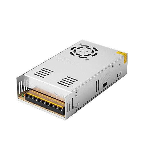 Schaltnetzteil 24V 20A 480W Universell geregelte Schaltnetzteiltransformatoren für LED-Lichtbänder, CCTV, Radio, Computerprojekt
