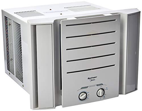 Ar Condicionado De Janela Springer Midea 7.500 Btu/h Frio Mec 220v Springer Midea Branco 220v