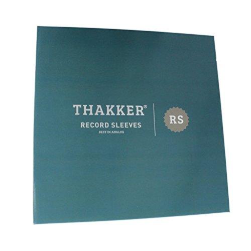 Thakker LP Record Sleeves Schallplatten-Innenhüllen, antistatisch 100 Stück