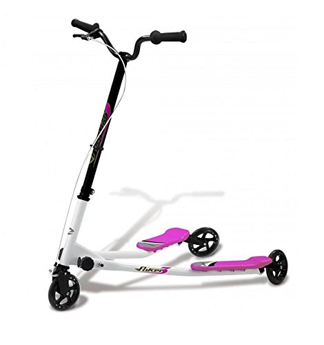 KAWIN Shopping on line BIPATTINO FLIKER - Monopattino 3 Ruote - Skateboard - Skate (Rosa)