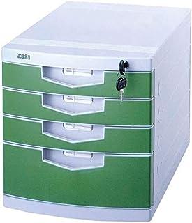 Accueil Cabinet de fichiers Office Business Desktop Storage Organizer fichier de données Cabinet à Quatre Couches Statione...