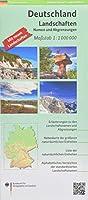 Deutschland Landschaften 1:1 000 000: Landschaftskarte mit Namen und Abgrenzungen