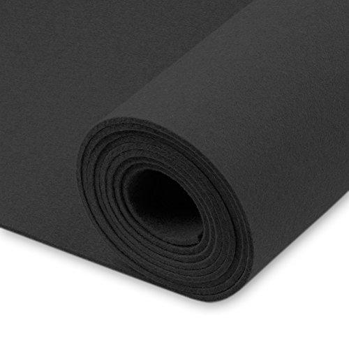 Premium in feltro Sold by Meter, grigio, densità 0,30kg/CDM, 3mm di spessore