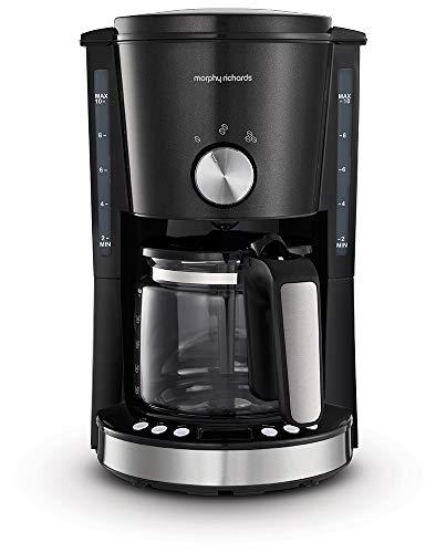 Morphy Richards Evoke Filter Coffee Machine, Red