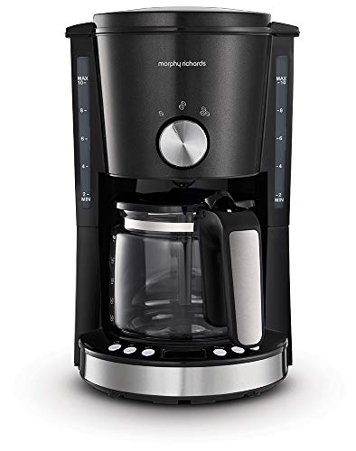 Morphy Richards Evoke 162520 Filter Coffee Machine, Black