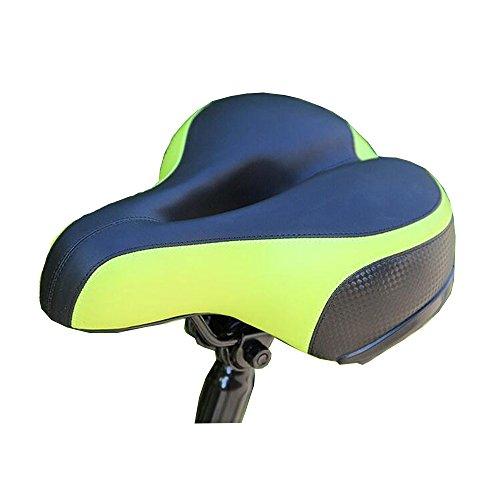 VEQSKING fiets zadel avondmaal gel gewatteerd en lente absorberen zadel kussen extra comfort