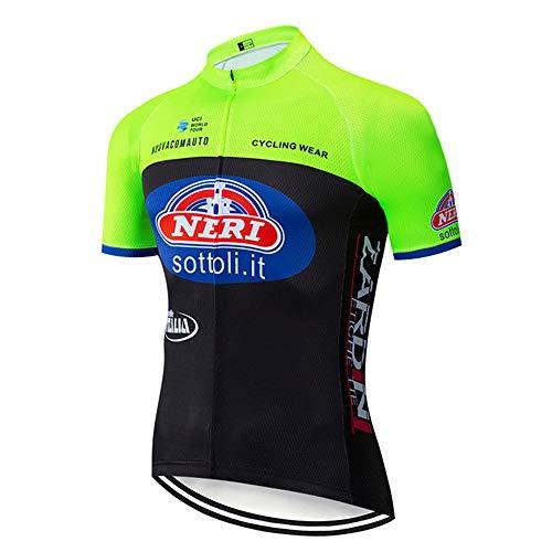 Vetement Velo Route Hommes Cyclistes Séchage Rapide Vêtements VTT pour Équipes Maillot de Course Velo