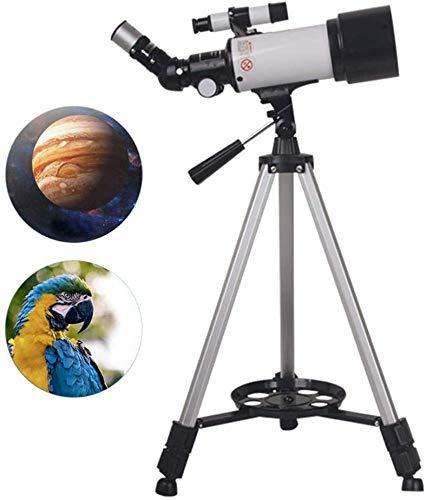 ACZZ Astronomisches Teleskop Astronomisches Teleskop Einstellbar Stativ Anfänger Uhr Mond Und Sterne Als Geschenk,A,Spiegel