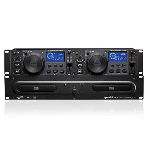 Gemini CDX2250 Dual 2U CD/Mp3 Mobile Player