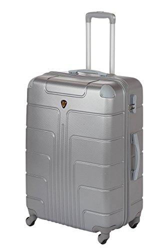 Hartschale Koffer New York Gr. XL, 75cm, 110 Liter 7 (Silber)