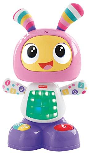Fisher-Price Mon Amie Beba le Robot Jouet Bébé d'éveil avec 3 Modes de Jeu, Version Italienne, 9 Mois et plus, FRV54