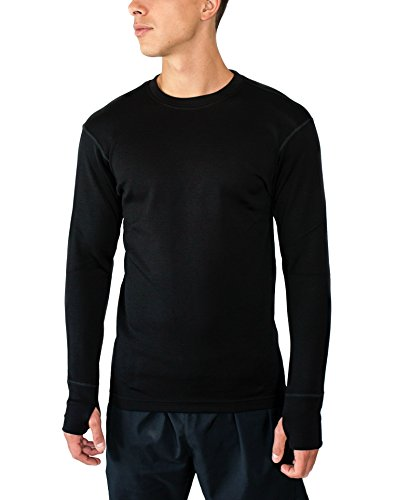 Mens Heavyweight Wool Wind Sweater