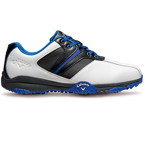 Callaway Men's Golf Shoes, Several Colours White Grey Blue, 7 UK