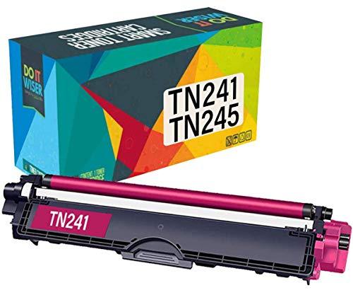 Do it wiser Kompatible Toner als Ersatz für Brother TN-245M TN-246M für Brother MFC-9142CDN DCP-9022CDW HL-3140CW DCP-9017CDW MFC-9140CDN MFC-9342CDW 9332CDW HL-3150CDW 3142CW 3152CDW (Magenta)