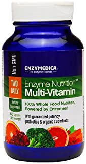 Enzymedica Enzyme Nutrition Multi-vitamin Two Daily, 60 Capsules
