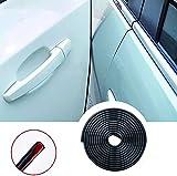 5M protezione per bordi auto YY-LC protezione per bordi in gomma a forma di U guarnizione in gomma per auto protezione per bordi profilo in gomma incluso rinforzo in metallo (5M) (5M)