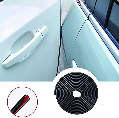 YY-LC protecteur de bord en caoutchouc en forme de U profil de caoutchouc de protecteur de bord de joint en caoutchouc de voiture, y compris renfort métallique (5meter)