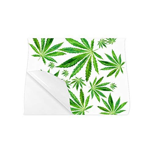 YXUAOQ Wandkunst Poster Cannabis Marihuana Blätter Vintage Poster für Wanddekoration Mädchen Wandplakate 20x16 Zoll Wandkunstdruck Great Home Office Room Decoration