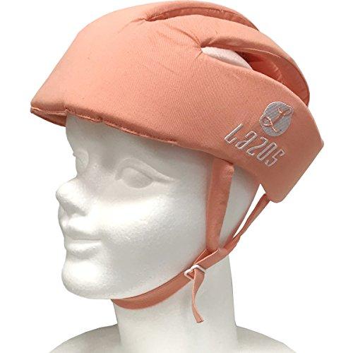 Leader Media Techno 4573424240841 Babyhelm pink orange, verstellbar
