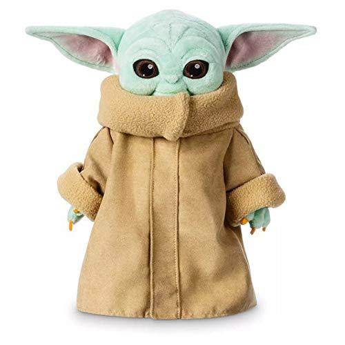 AZWER Figura Peluche Yoda Juguetes, Peluche Suave mueca rellena Linda Yoda mueca, Juguetes de Figuras de Las guerras estelares, Ornamento esttico para el nio, Regalo para nios y nias