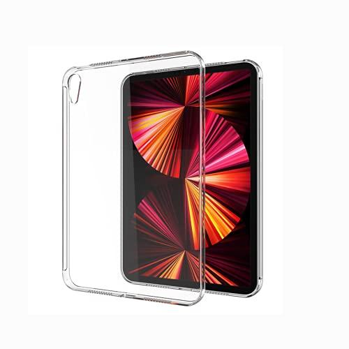 Hokuto Custodia Ultra Sottile per Apple iPad Mini 6th Gen 2021 Custodia Protettiva Leggera, TPU Flessibile, Assorbe Gli Urti, Leggera, Sottile, Trasparente