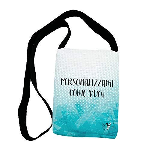 My Custom Style Sacs artisanaux Full Print personnalisés en polymère 24x18x6 Borsello A Tracolla