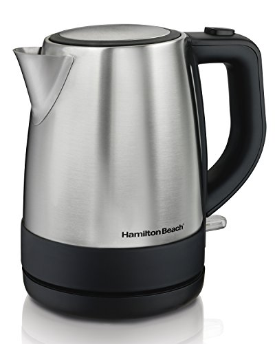 Our #5 Pick is the Hamilton Beach Electric Kettle