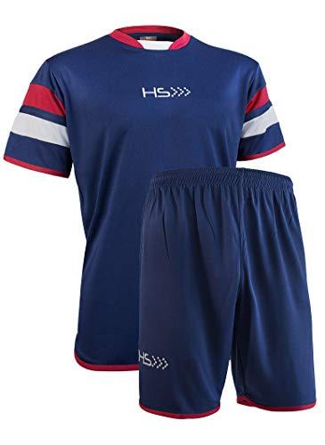 HS - Completo Sportivo Passion, Maglia Manica Corta e Pantaloncino, per Uomo e Donna