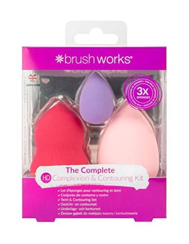 Brushworks Complexion et contour Set Éponge 1 Unité