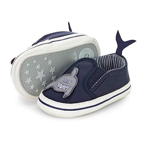 Sterntaler Jungen Baby-Schuh Stiefel, Blau (Marine 300), 15/16 EU