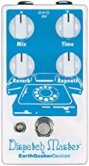 A Hi-Fi digital delay & reverb device that combines independent delay and reverb effects into one space-saving enclosure Keep your deep ambient echoes (or just a quick slap back) on speed-dial Capable of 1.5 seconds of delay time and a dynamic reverb...