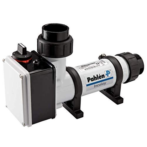 well2wellness® Pahlen Elektroheizer 6kW aus Kunststoff mit Heizstab aus Incoloy Nickel Chrom Legierung